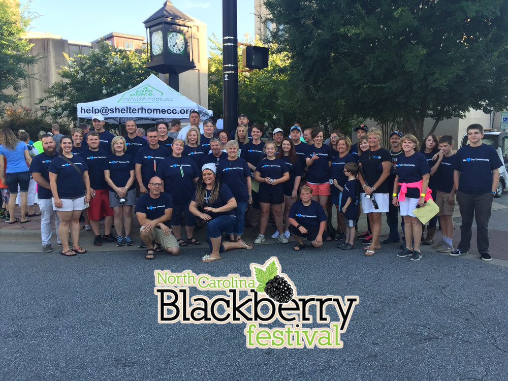 Friday's Glow Run and Saturday's Festival made for a FULL weekend of serving our community! - Click here for more Blackberry highlights