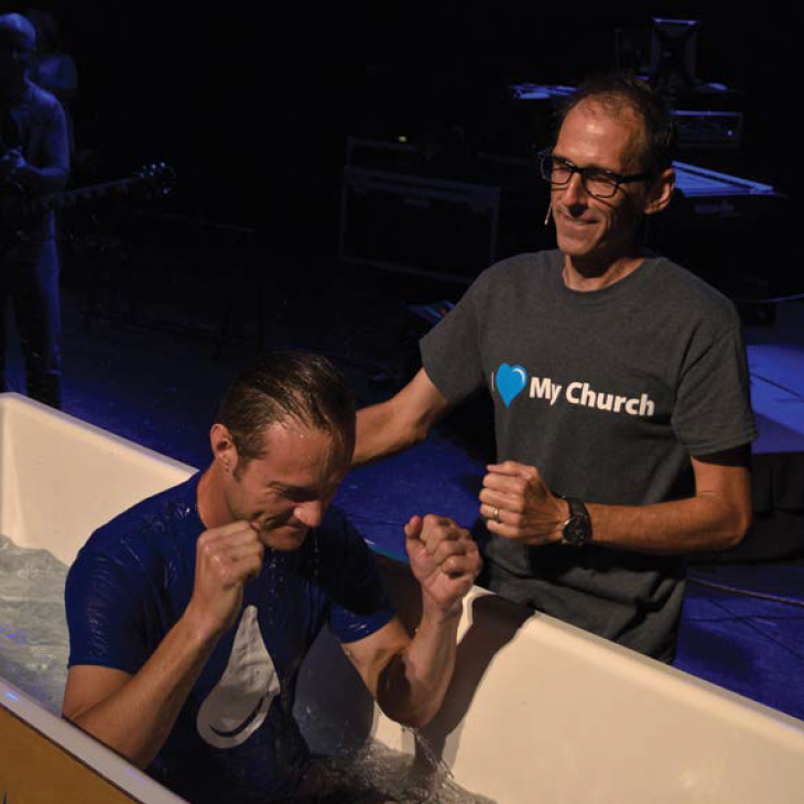 "A Step Of Faith Together - Just as the founders of our church took that first step of faith to start Waterlife, we believe it' is time for us All to be a part of our next step. God has been faithful to us, so let us confidently take this next step of faith to be ""All In For Hope!"" We will take this step"