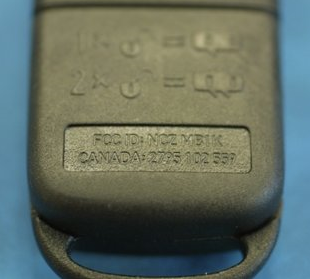FCC ID Example