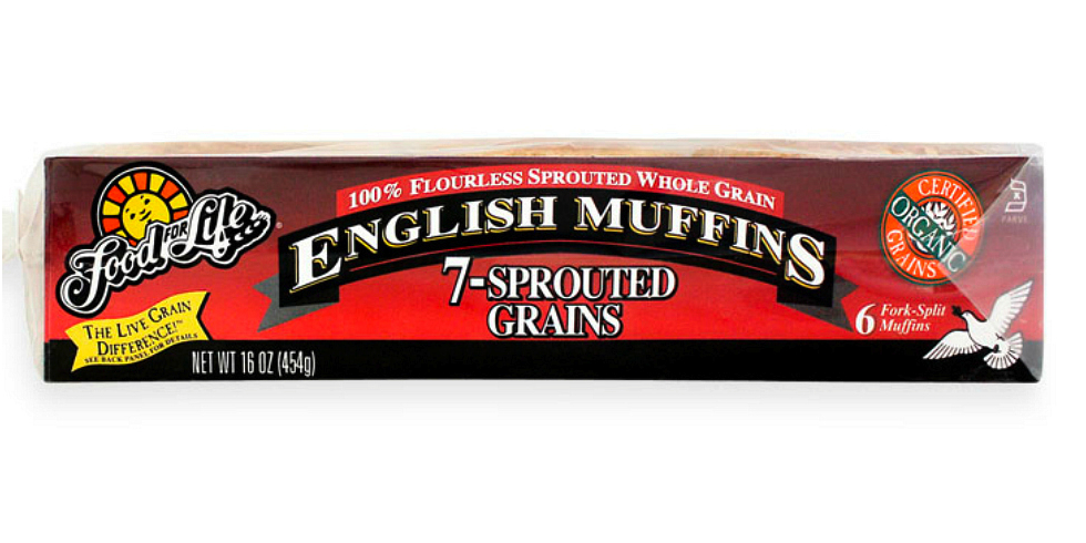 Food for Life 7-Sprouted Grains English Muffins