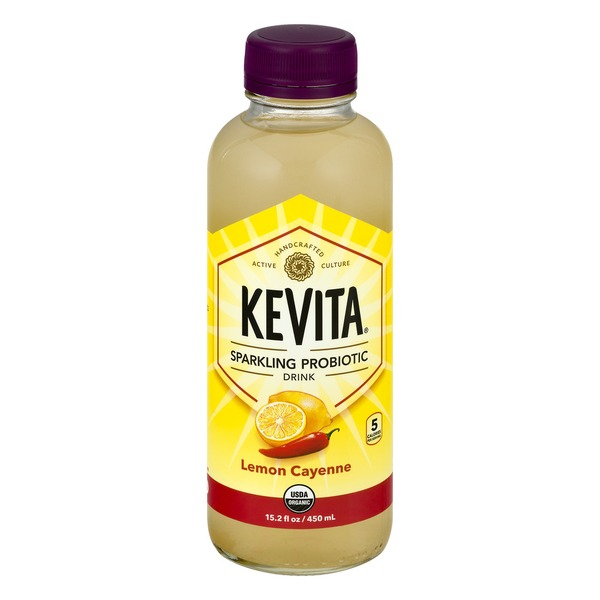 My favorite flavor- Lemon Cayenne Kevita!