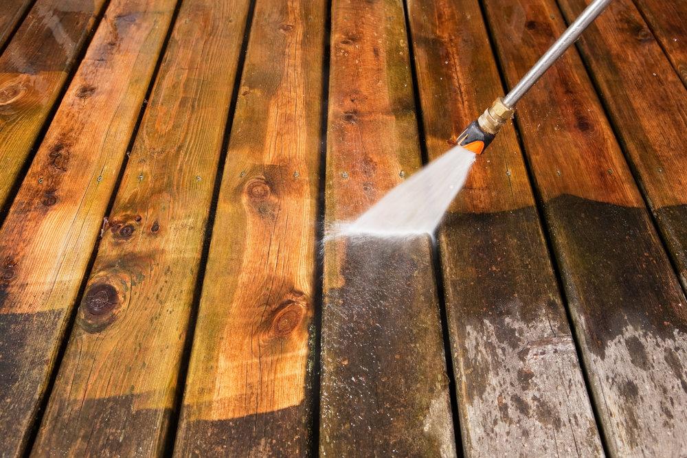 Pressure washing deck.jpg