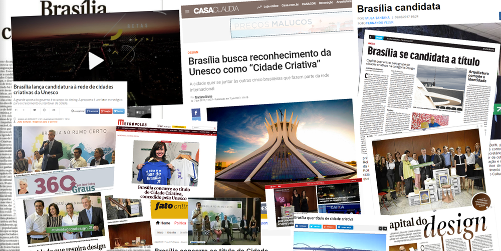 Brasília's candidacy was quoted more than 20 times in the press.