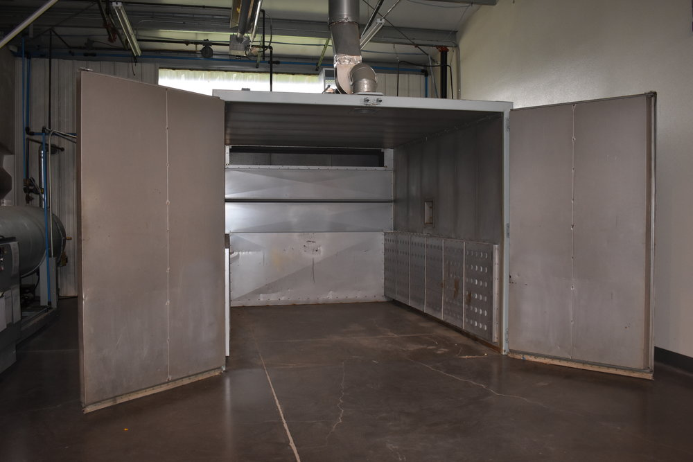 LARGE OVEN - Commercial grade oven used for processing of various materials and paint.