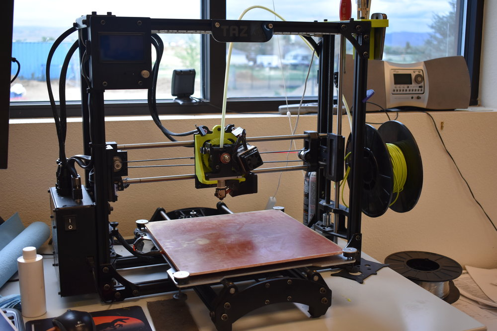 LULZBOT           3D PRINTER - Used for rapid prototyping of small parts for testing.