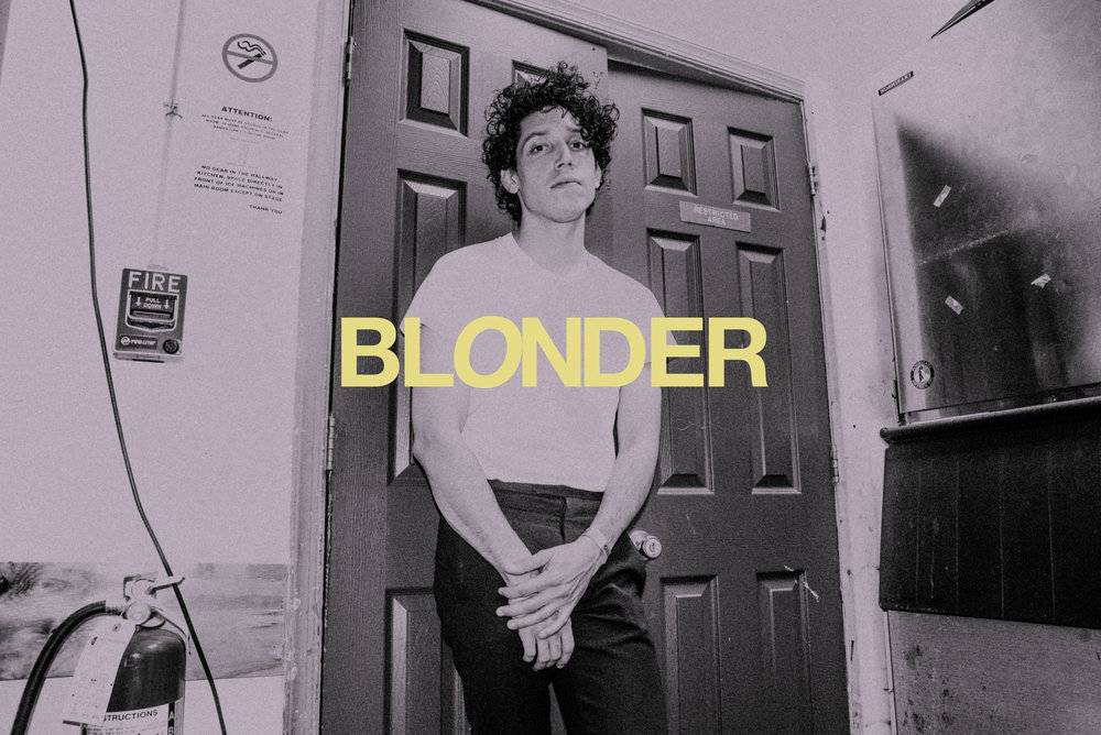 On a Saturday evening in DC - I stood backstage in a storage room at Rock & Roll Hotel with Constantine Anastasakis, the mastermind behind Blonder to discuss his introduction to David Bowie, the origin of Blonder, the importance of aesthetic, and the Blonder World he has created with his debut EP, $5.