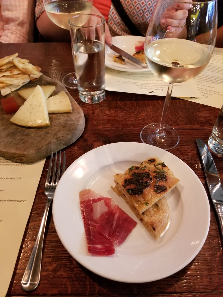 Grilled Flatbread, Prosciutto, & Selection of Italian Cheese