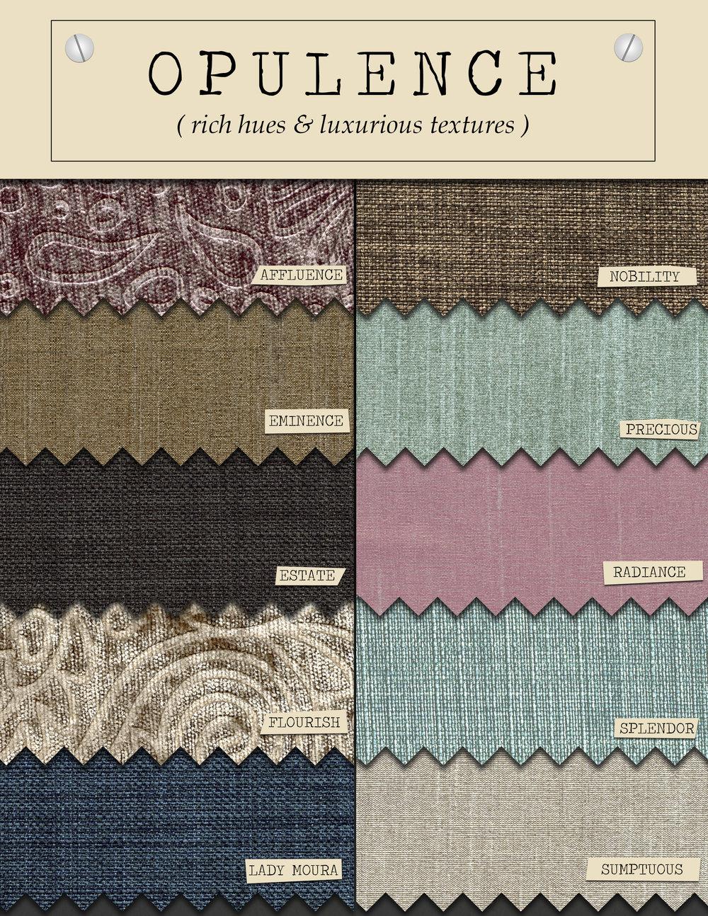 Textured & Silky Fabrics