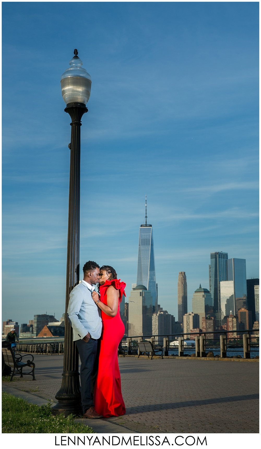 Liberty State Park Engagement Photos