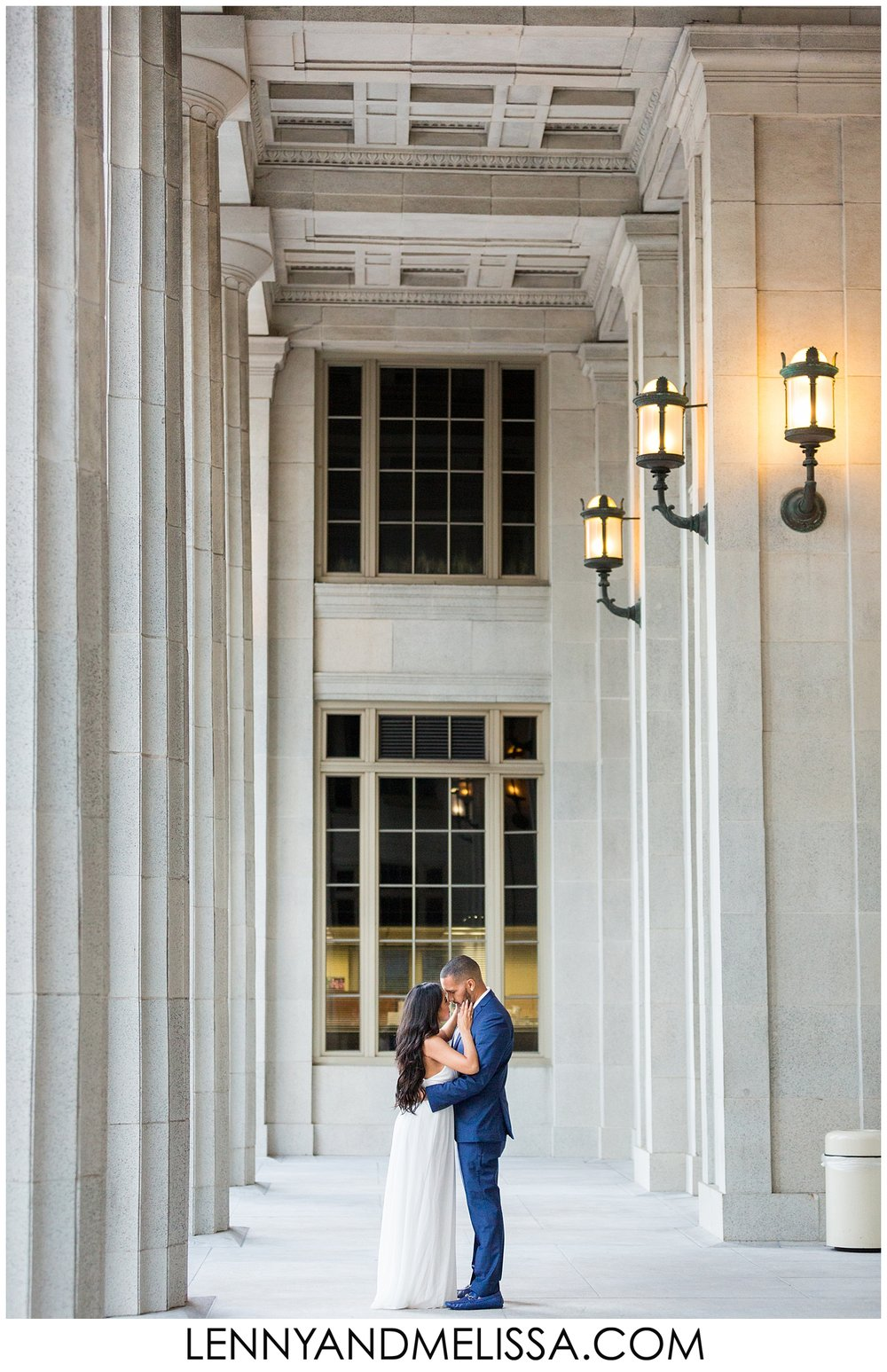 frost museum engagement photos