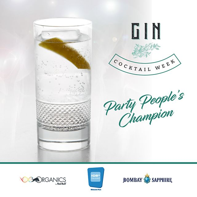 Saturday night, we're ready to party. A good wingman is often helpful, but with the champion you are not in danger! Where can you find it? Search among the bars of the #GinCocktailWeek2018 the closest to you!