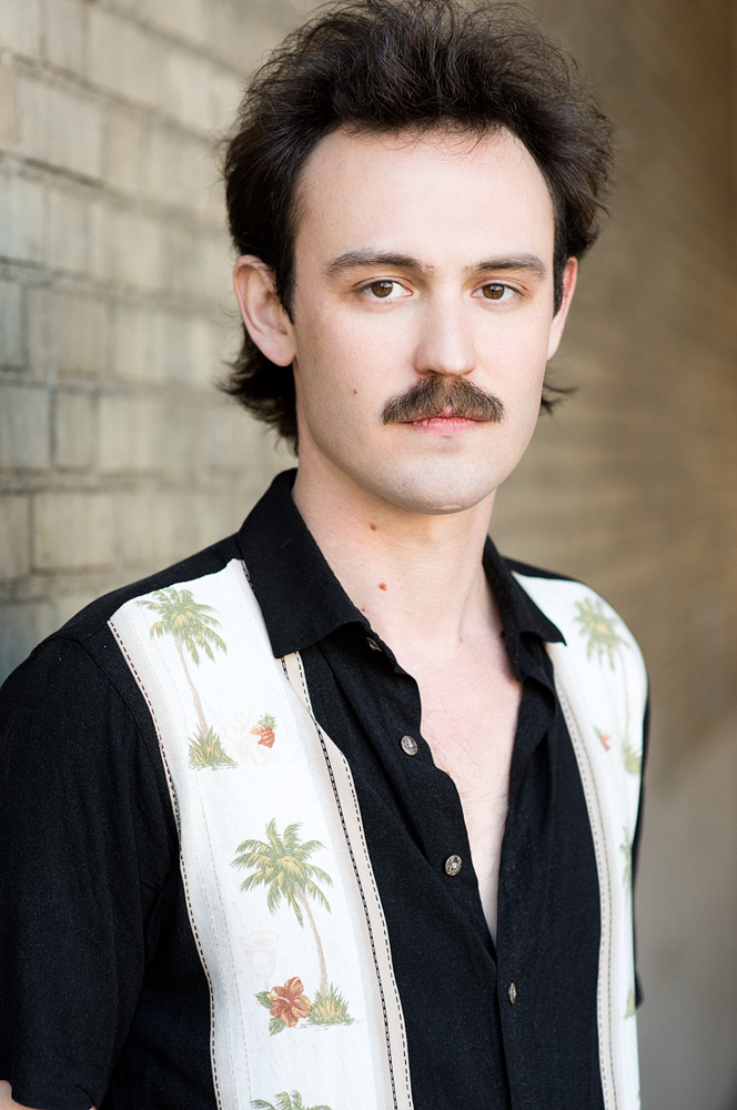 Actor Headshot in NYC - Kris doing his best Narcos impression