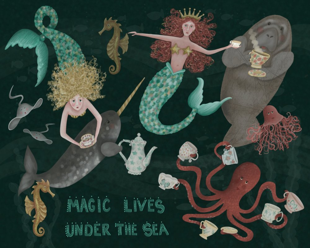 Magic Lives Under the Sea