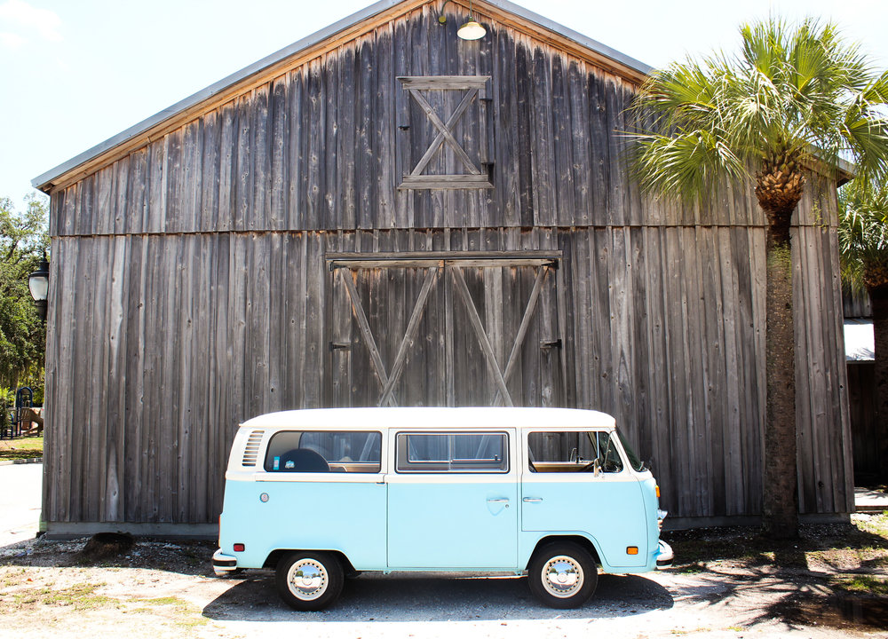 VW bus photo booth in East Bradenton.