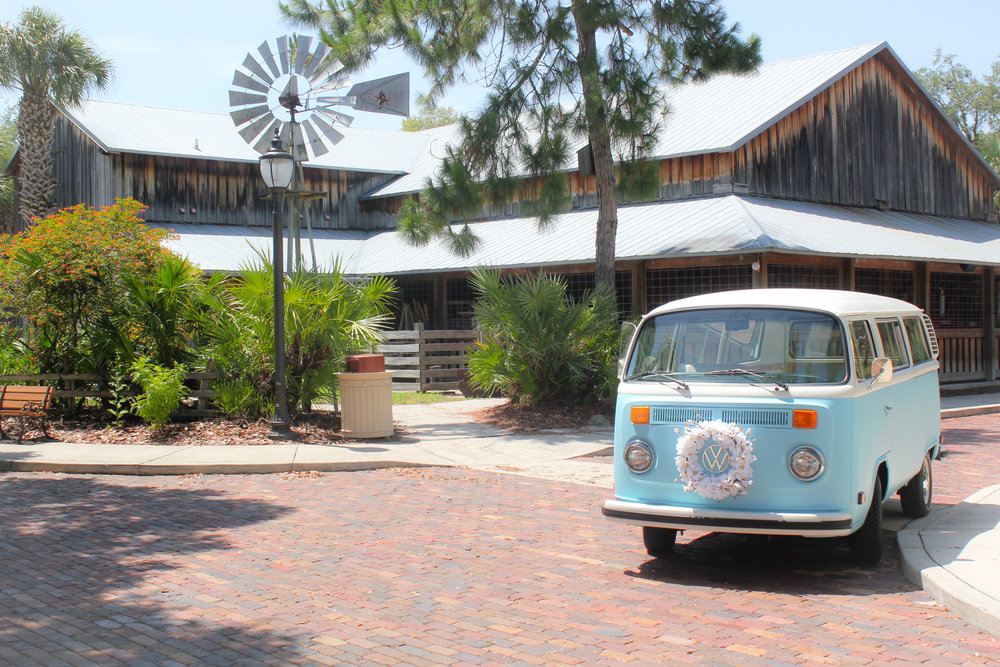 VW Bus photo booth in East Bradenton FL.