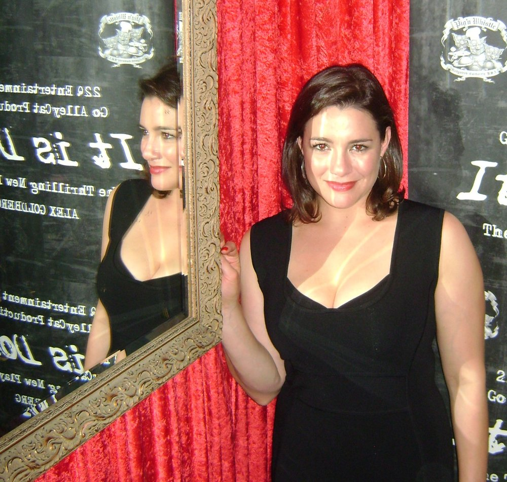 "Catia Ojeda at the opening night of ""It Is Done"""