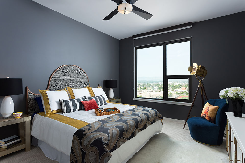 Morris Photography - Model Apartment Bedroom