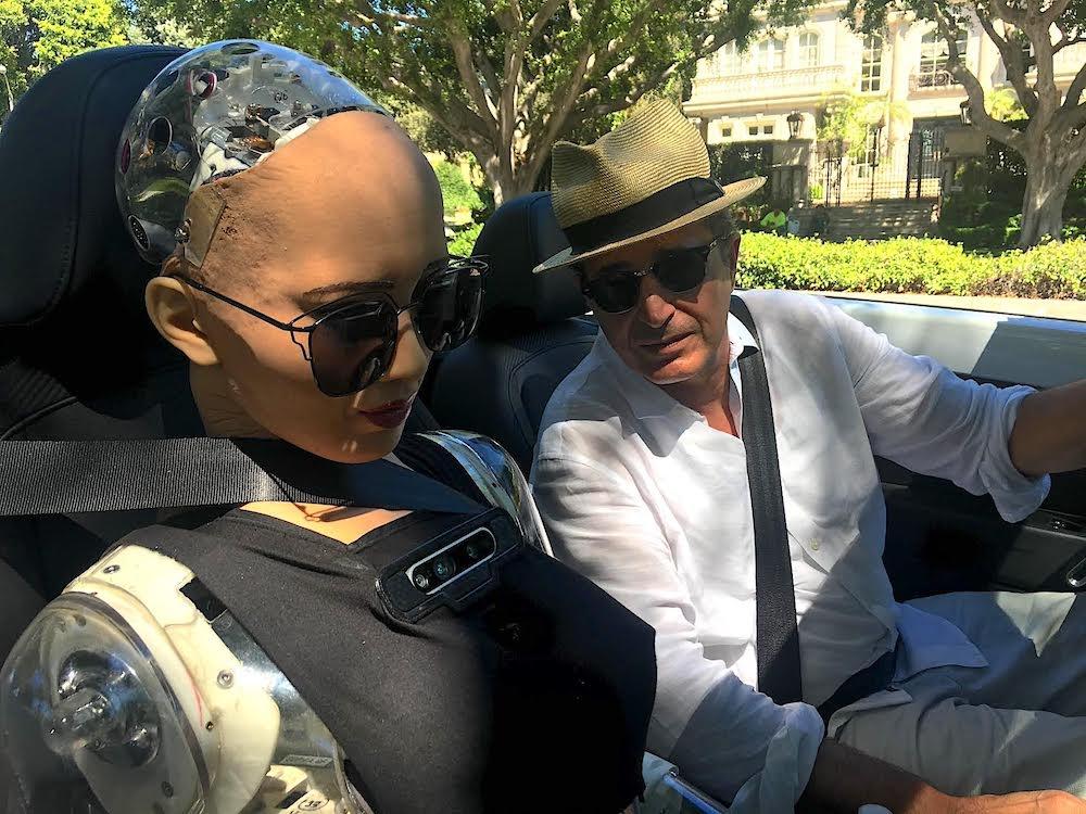 Touring LA with Sophia
