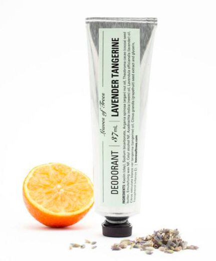Leaves of Trees Lavender Tangerine Deodorant, $15.00