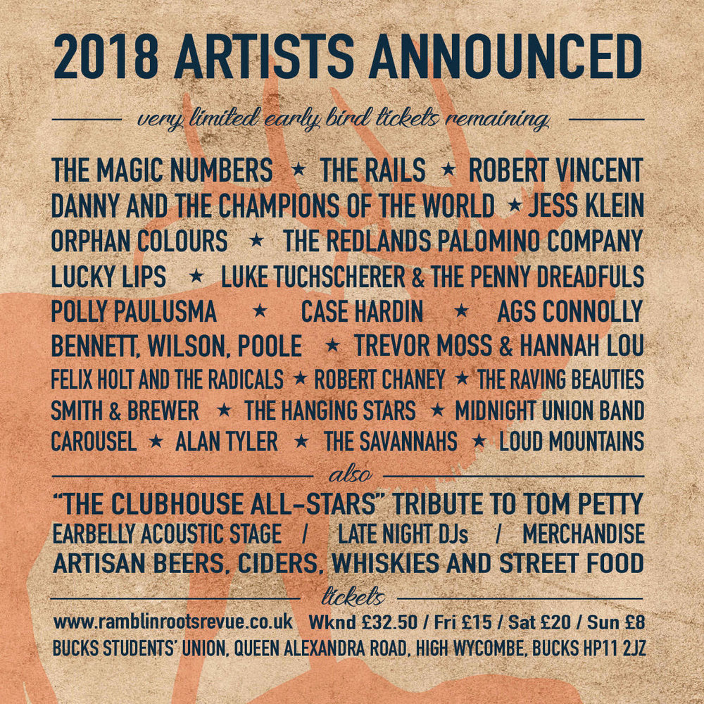 Ramblin Roots 2018