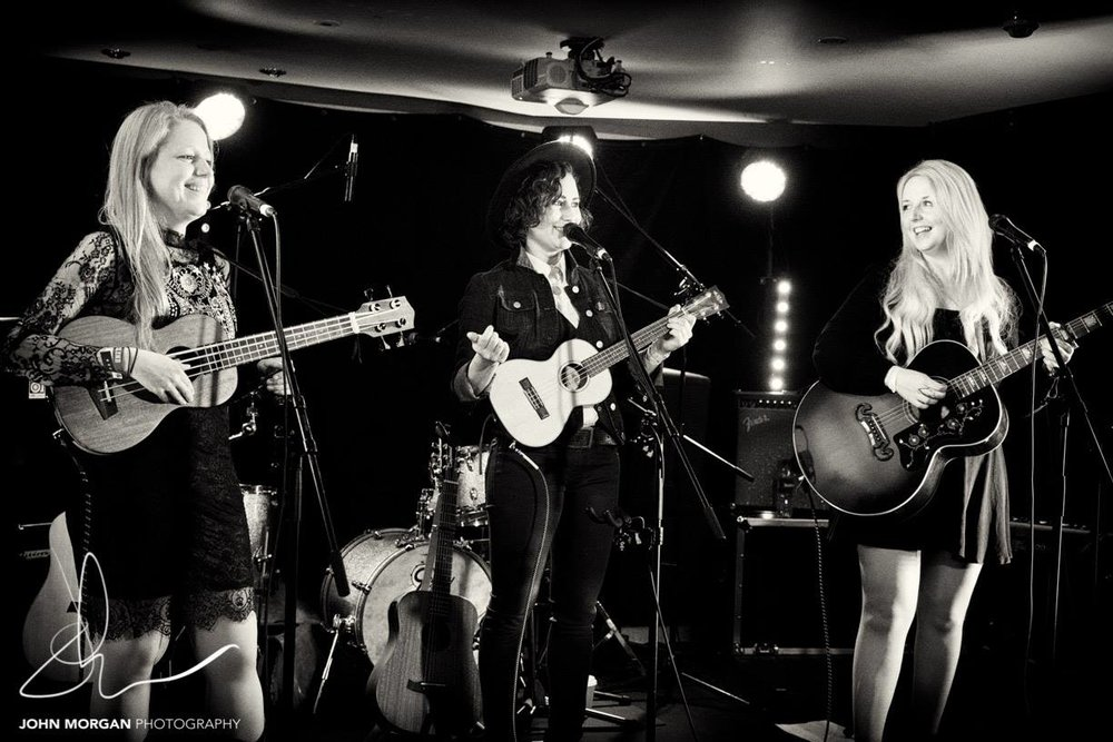 The Savannahs Live at Ramblin Roots, Photo by John Morgan