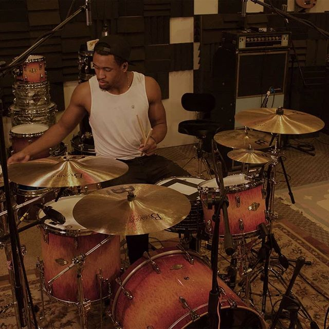 Yanni Allen crushed it in the studio! Check his profile for some  killer covers, you won't be disappointed. Pics by @mikeysvisual #meinlcymbals #pearldrums