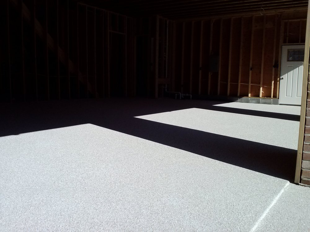 Epoxy Flake Garage - Ambler, PA