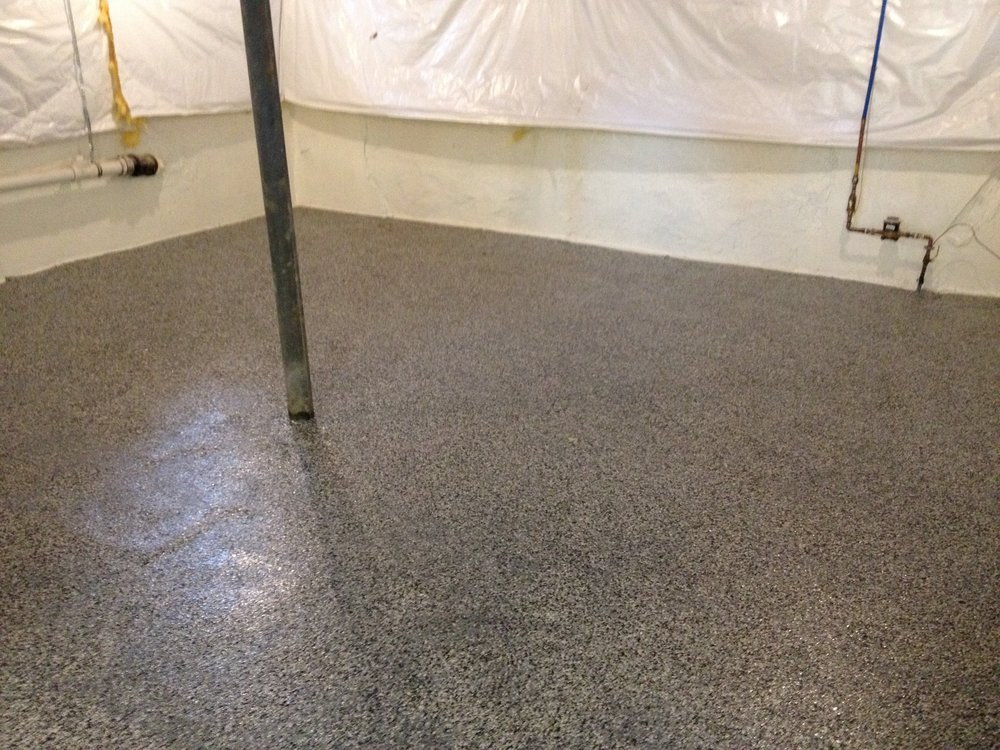 Graniflex Basement Floor - Philadelphia, PA