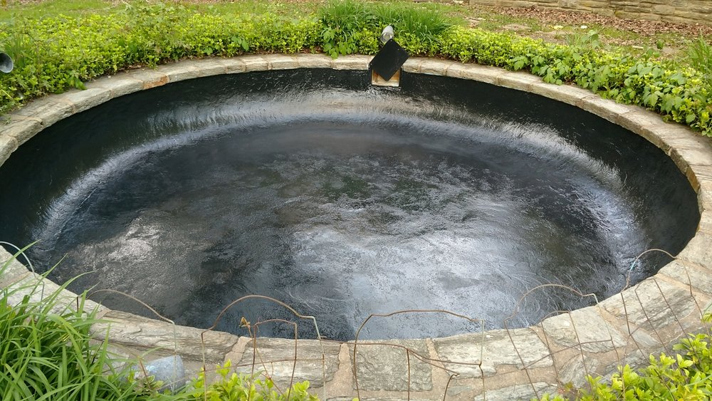 Ornamental Pond Waterproofing - Villanova, PA