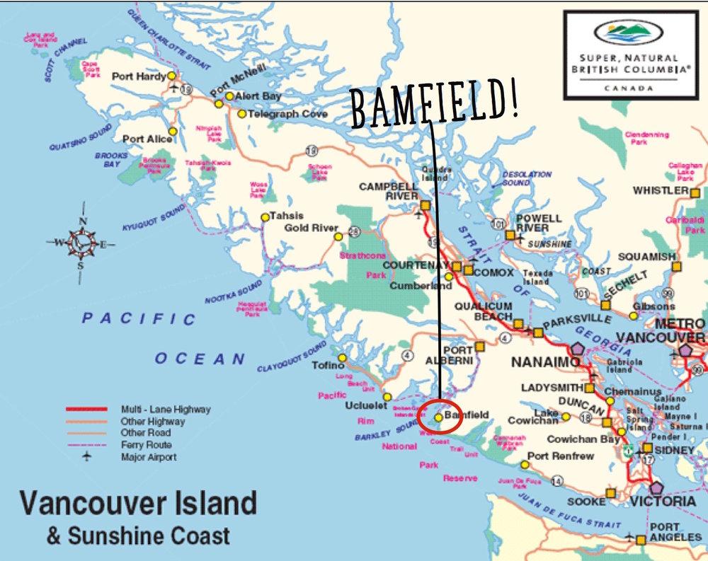 Bamfield, West Coast Vancouver Island