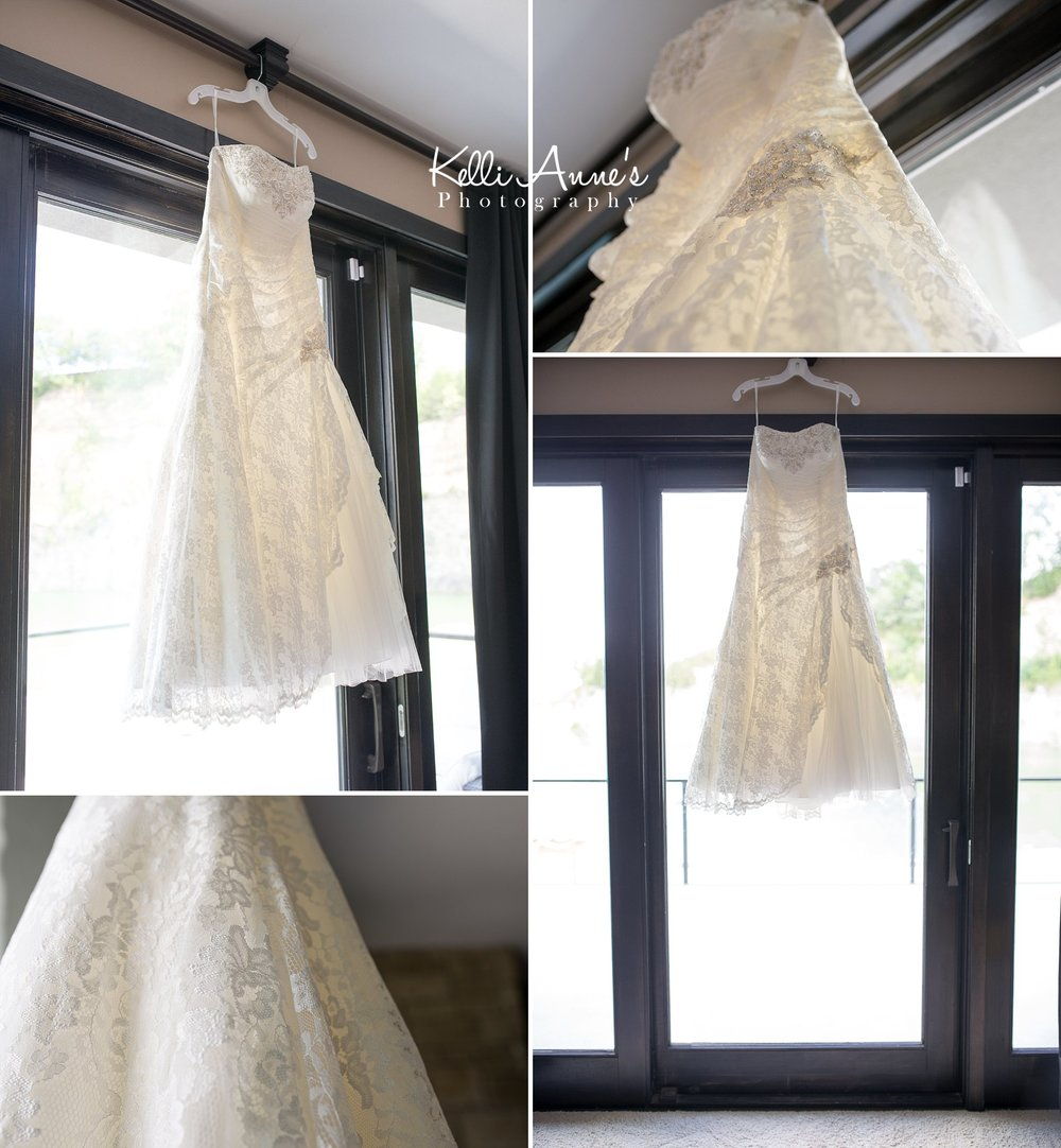Wedding dress, lace, bridal suit, natural light, Sunset Bluff Venue, Washington MO