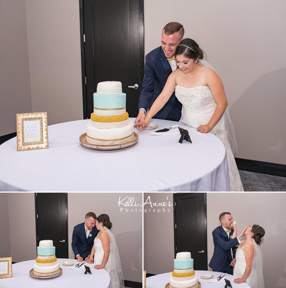 Cake, Cutting the cake, bride and groom, three tier cake, cake smashing