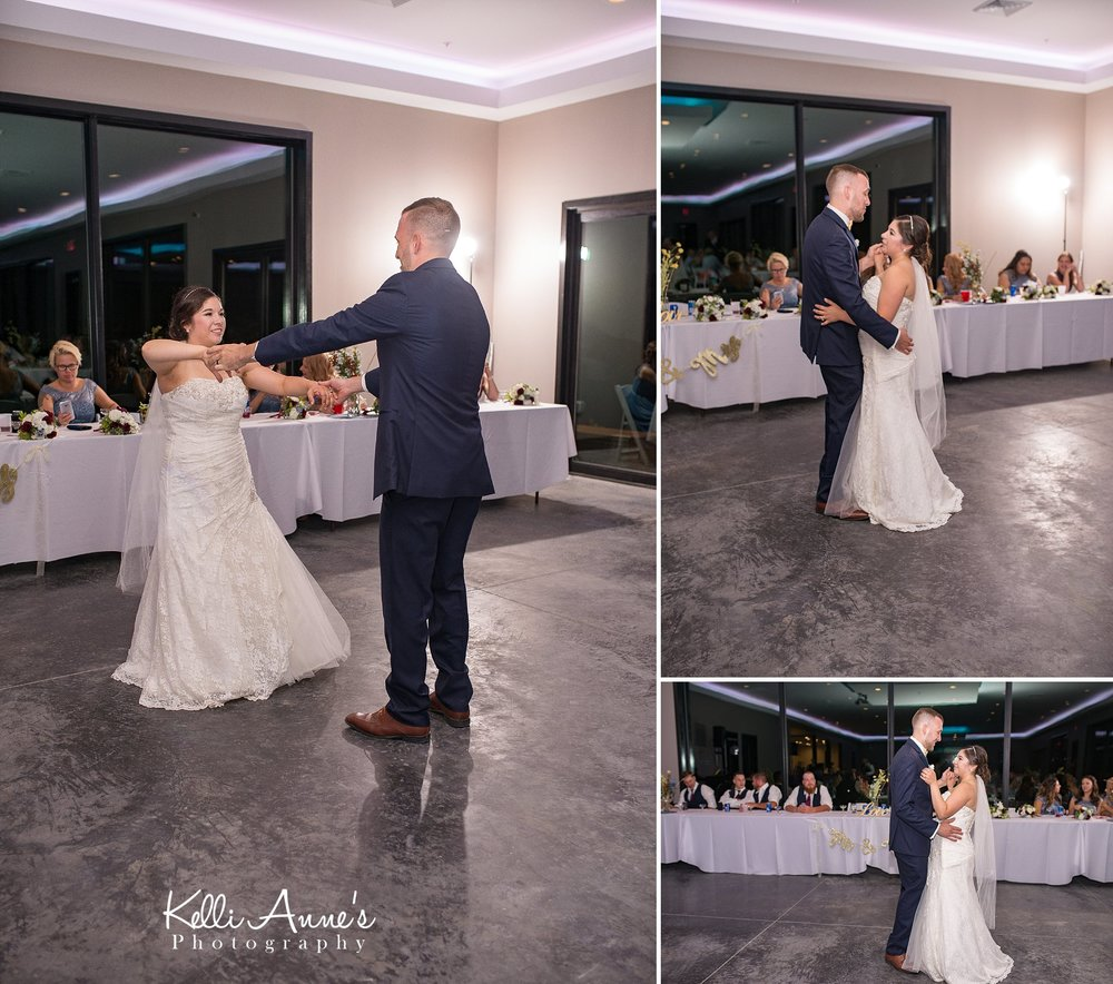 Bride and Groom, First Dance, Reception, Spinning, Dancing