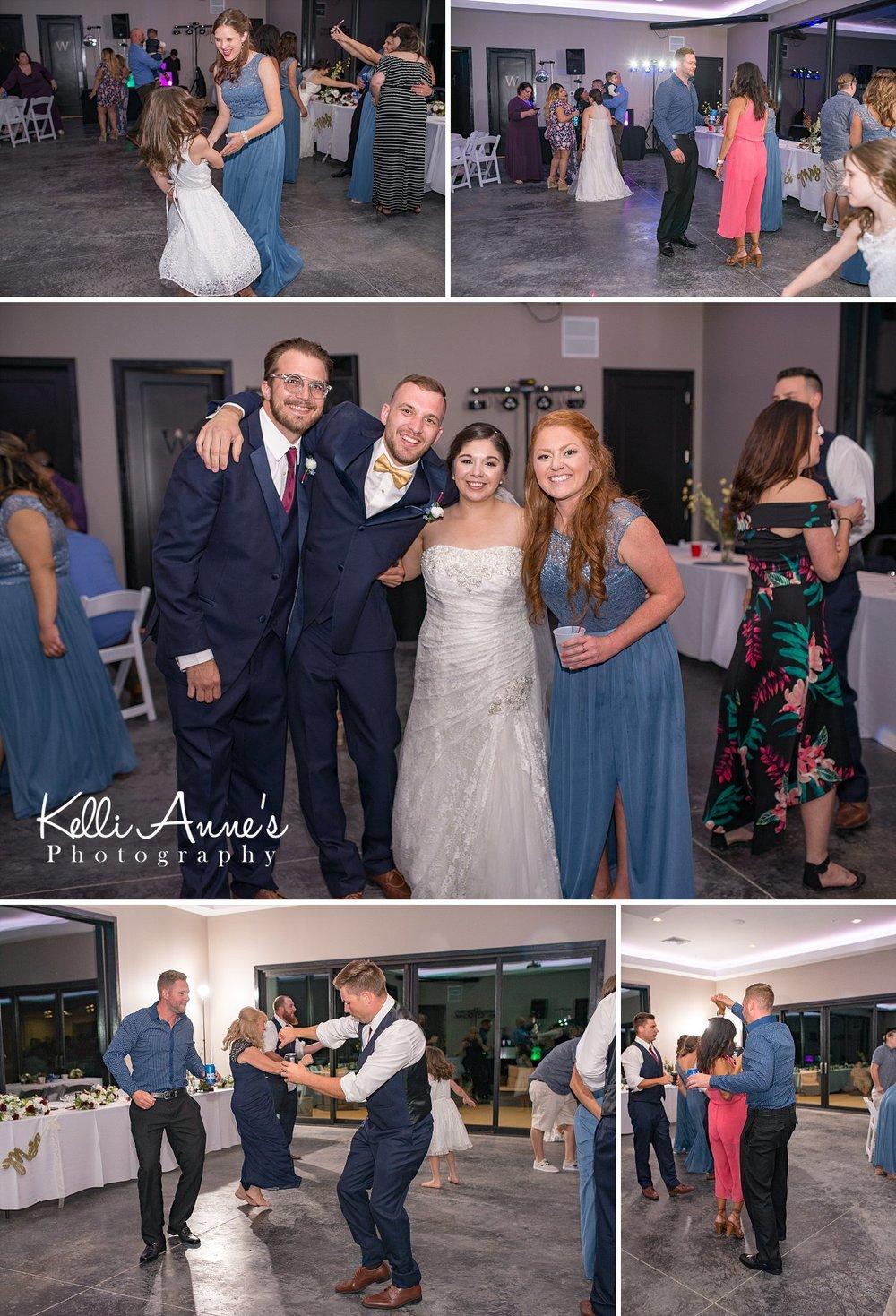 Dancing, Break Dacing, Spinning, Bride, Groom, Bridal Party, kids, Children