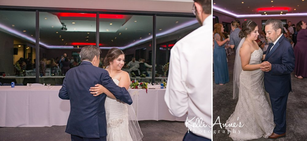 Father daughter dancing, slow dancing, reception