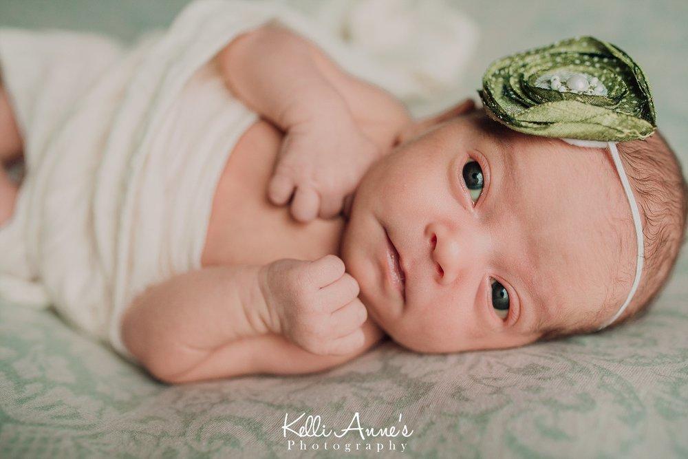 Newborn posed session st louis