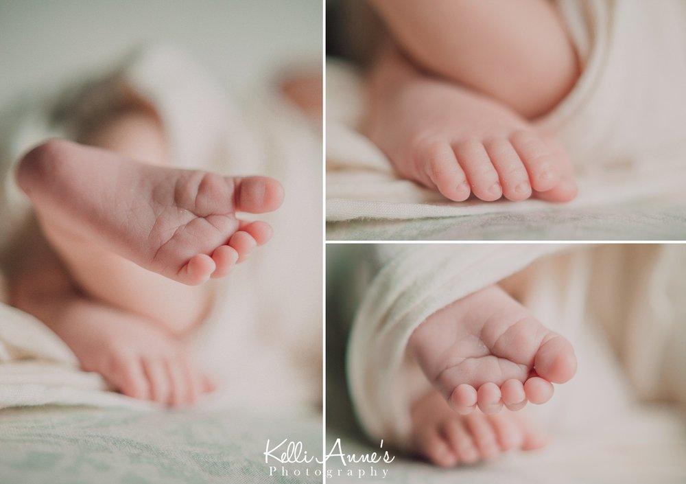 Newborn Little Toes Newborn Session St Louis