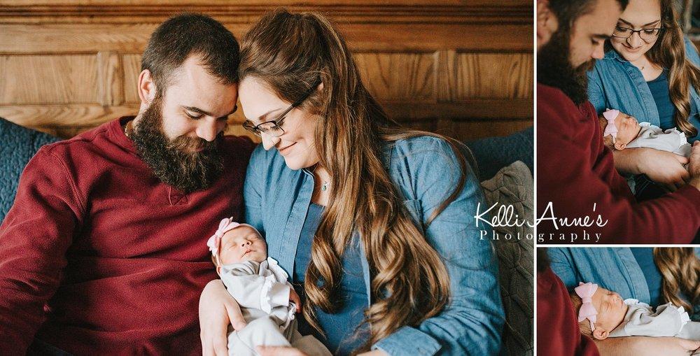 Family Newborn Session St Louis MO