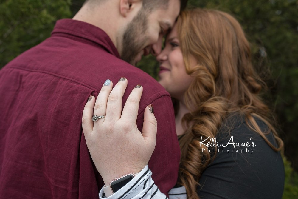 springfield mo winter engagement session