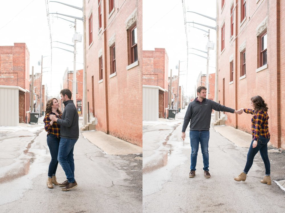 dancing-in-the-alley-way-downtown-engagement-session