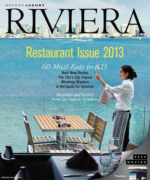 Modern Luxury Riviera Magazine - 2013