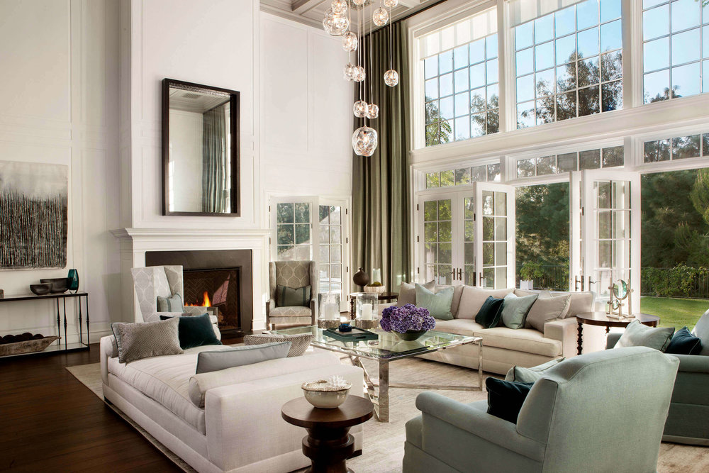 Lovely Elizabeth Tapper Interiors Brentwood Formal Living Room