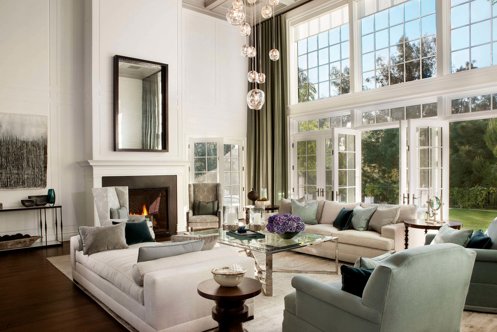 Elizabeth Tapper Interiors - Brentwood Formal Living Room