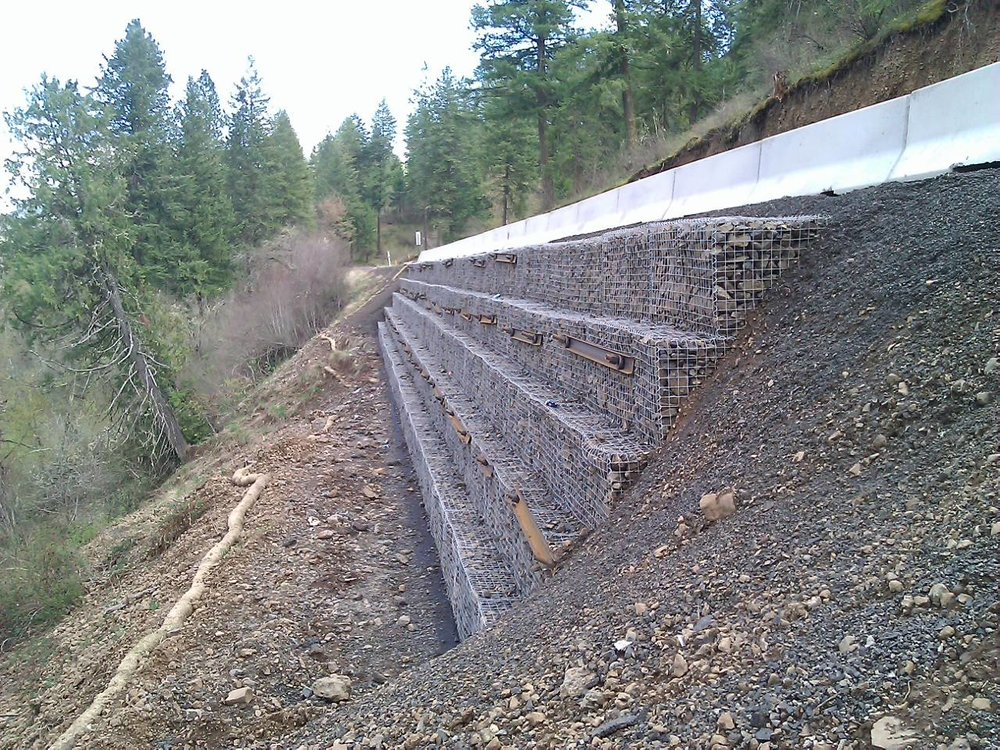 Idaho County's landslide remediation via soil nail walls