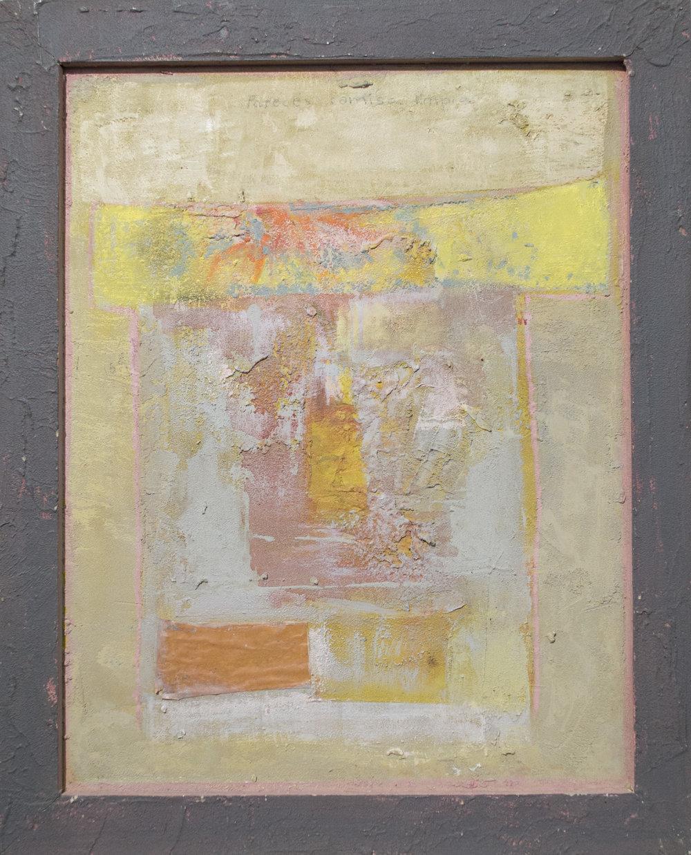Alberto Mijangos - 1990, oil on panel and frame, 20