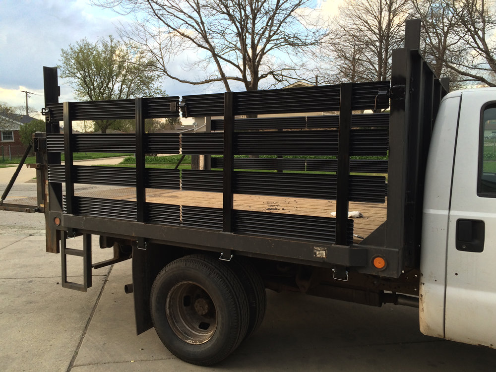 Stake Bed Removable Side Gates