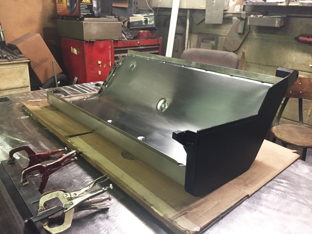 Replacement hood for grill.