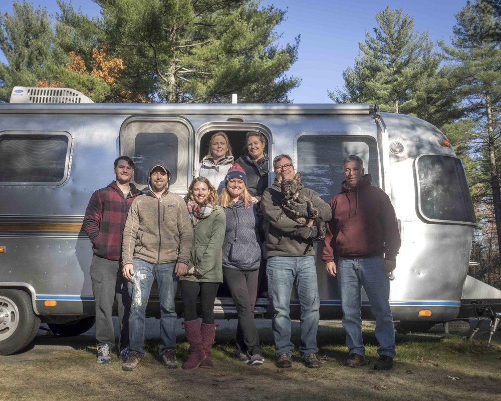 Litchfield, NH with Evan, Robin, Amy, Patti, Fred, and Jim | November 2017