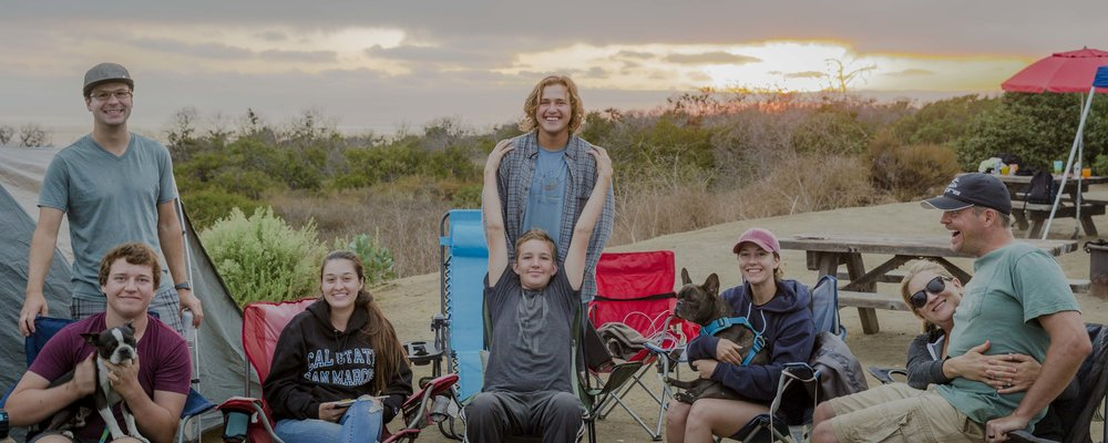 San Onofre, CA with the Ellises | August 2017