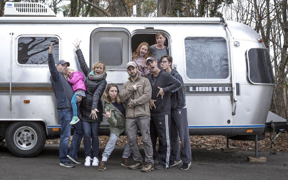 Asheville, NC with Matt, Anna, Jessica, Craig, Kylie, Barbie, and Sean | Thanksgiving 2017